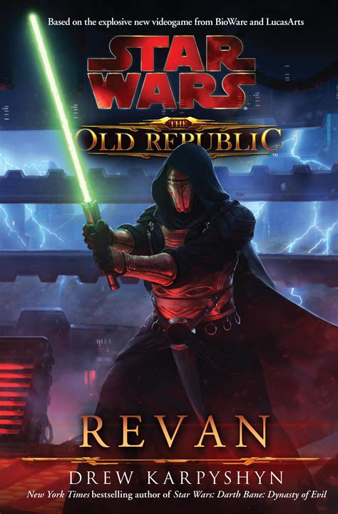titan books star wars the old republic revan drew