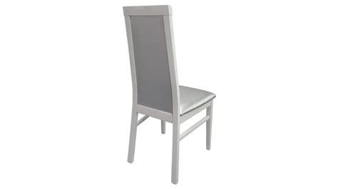 chaise simili cuir gris chaise baroque en similicuir matelassé gris trenton