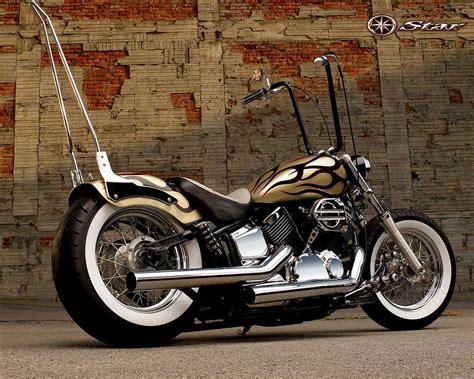 Motorcycles Images Yamaha Chopper Hd Wallpaper And