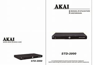 Mode D U0026 39 Emploi Akai Std 1990