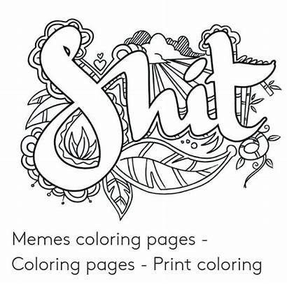 Coloring Pages Memes Meme