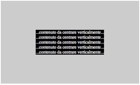 Centrare Div Css - centrare un elemento in verticale con i css pagina 8