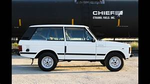 1980 Range Rover 2 Door Classic For Sale At Modern