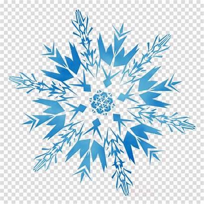 Winter Background Clipart Transparent Snowflakes Snowflake Snow