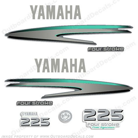 Yamaha Boat Decals by Marine Decals For Your Yamaha Outboard Engine