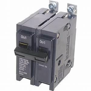 Prise 20 Ampere : eaton type bql 20 amp double pole circuit breaker lowe 39 s ~ Premium-room.com Idées de Décoration