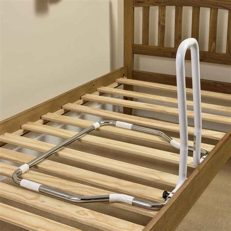 Bed Handrail - folding easy fit bed rail vat exempt nrs healthcare