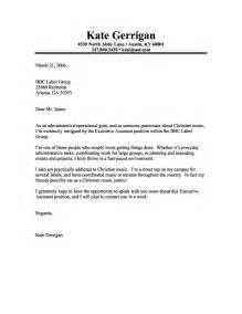 Creative Cover Letters For Marketing Executive Assistant Cover Letter