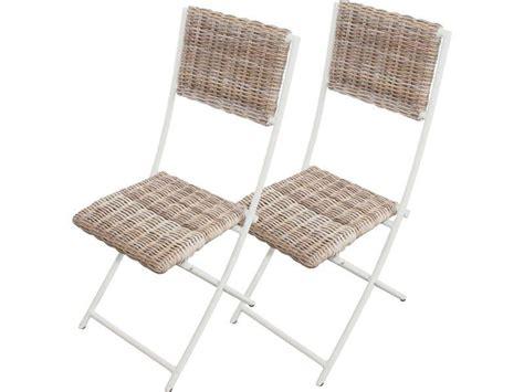 conforama chaise de jardin lot de 2 chaises pliantes de jardin borneo conforama