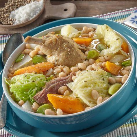 recette cuisine basque garbure au confit de canard soupe traditionnelle du sud