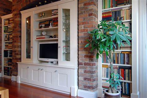 custom  living rooms display tv  media units
