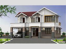 Two Story House PlansKerala Perspective Series House