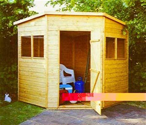 corner sheds shed plans kits