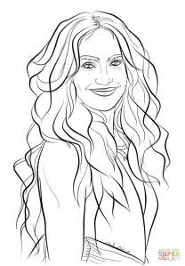 jennifer lopez coloring page  printable coloring pages