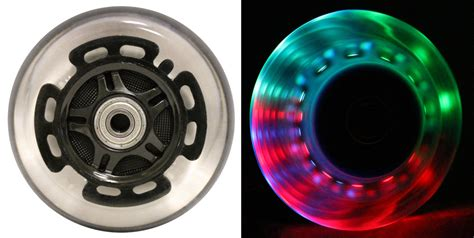 Razor Scooter With Light Up Wheels led scooter wheels abec9 bearings for razor scooters 100mm