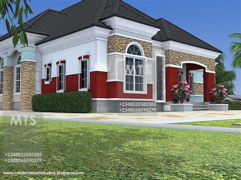 bedroom bungalow house plans  nigeria   bedroom