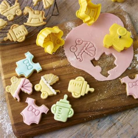 baby shower cookie cutters lakeland