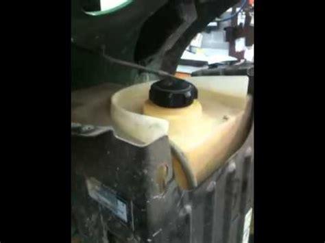 lawn tractor repair john deere riding mower fuel tank
