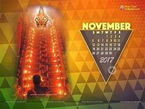 Desktop Wallpapers Calendar November 2017 - Wallpaper Cave