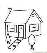Coloring Houses Coloringpages101 Printable Pdf sketch template