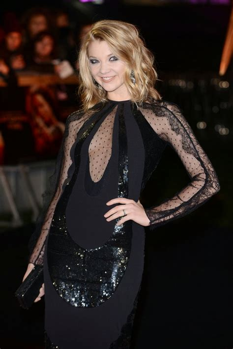 natalie dormer in hunger natalie dormer see through cleavage at the hunger