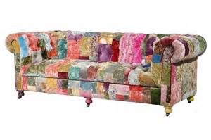 patchwork sofa loud and proud the rise of the funky sofa velvet funky furniture and the o 39 jays