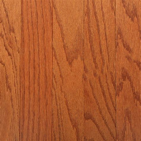 Gunstock Oak Flooring Bruce by Bruce Oak Gunstock 3 8 In Thick X 3 In Wide X Random