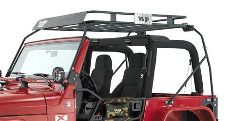 jeep safari rack warrior products 873 safari sport rack for 97 06 jeep