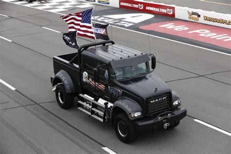 Mack Trucks' 'jack' Leads Ceremonial Laps At Nascar's