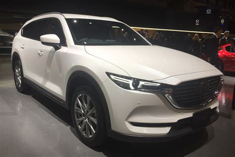 mazda japan website japan only mazda cx 8 suv revealed in tokyo auto express