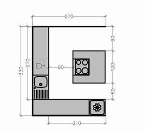 plan de cuisine avec ilot central les 6 exemples a With plan de travail maison 4 avant apras optimiser lespace dans un studio maison