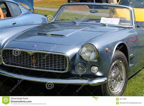 vintage maserati convertible classic maserati convertible sports cars editorial