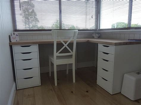 ikea l shaped desk hack best 25 ikea corner desk ideas on ikea office