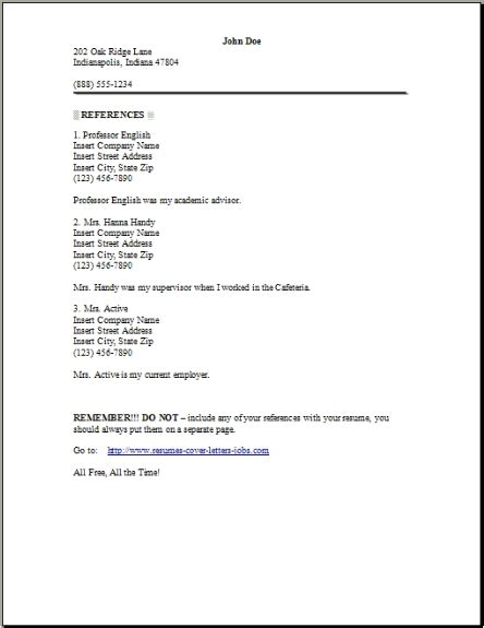 Resume Reference Page, Occupationalexamples,samples Free. Letterhead Envelope Template. Resume Example Lawyer. Letter Writing Format In English Pdf. Resume Activities. Cover Letter For Retail Assistant In Supermarket. Resume Template Word High School. Lebenslauf Englisch Dict. Cover Letter Template Word Professional