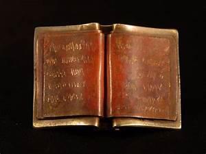 M Designs Jewelry Book Pins David M Bowman Studio