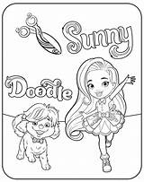 Sunny Coloring Printable Cartoon Rox Blair Coloringoo Coloringpages Sunnyday Drawing Painting Dibujos Colorear Anos Stress Release Rafa Ideias Comments Days sketch template
