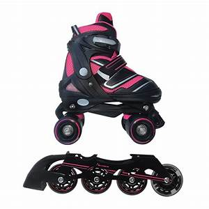 Pattini : Pattini in linea Rollerblade trasfomabili in pattini a rotelle classici 2 in 1