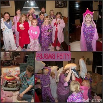 Party Birthday Parties Pajama Pyjama Pajamas Budget