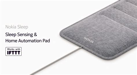 nokia announces its the bed sleep tracking accessory