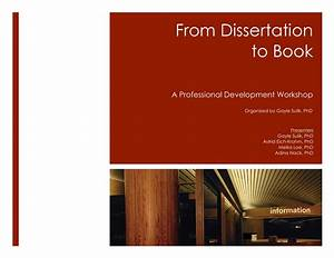 Books to help with dissertations