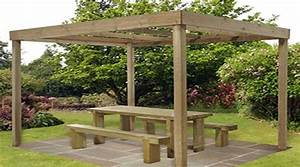 Idee De Pergola En Bois : prix d 39 une pergola en bois tarif moyen co t de construction ~ Melissatoandfro.com Idées de Décoration