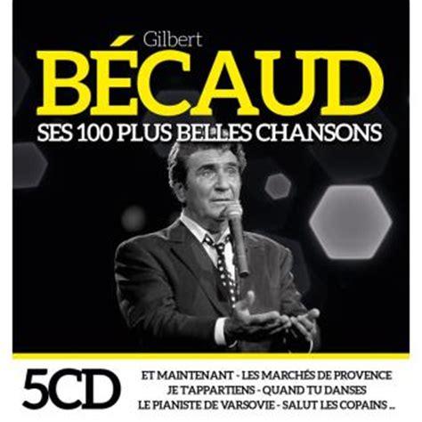 Ses 100 Plus Belles Chansons Coffret  Gilbert Bécaud Cd