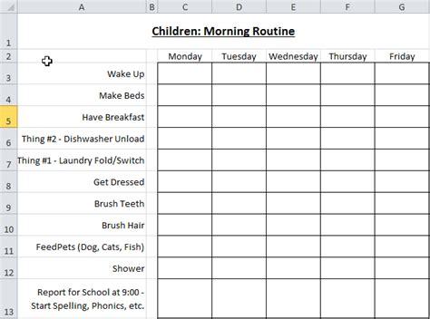 Homeschool Checklist Template by Homestead Catholic The Homeschool Morning Checklist