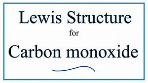 Co Lewis Structure