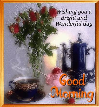 Morning Wonderful Bright 123greetings Greetings Greeting Card
