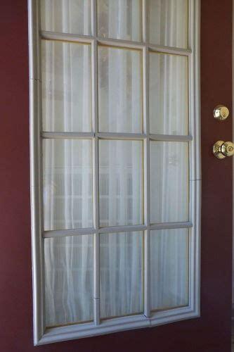 older front door  plastic muntins hometalk