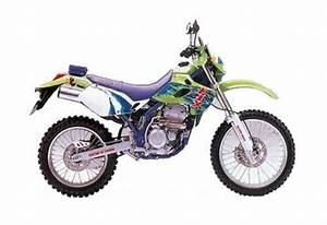 Kawasaki Klx250 Service Manual Repair 1993