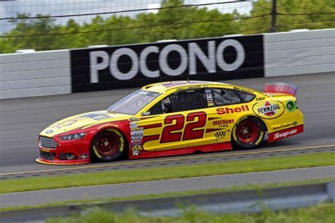 Logano To Start Seventh At Pocono Raceway On Sunday