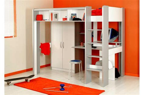 lit mezzanine avec bureau pour ado chambre ado fille avec lit mezzanine lit mezzanine