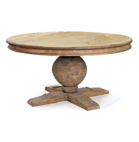 farmhouse style round dining table winchester farmhouse cottage 60 quot round trestle dining table